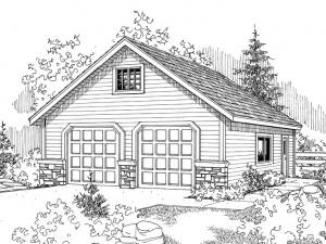 Garage Plan 051G-0005