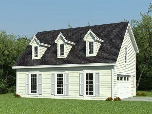 006G-0088 Garage Apartment Plan