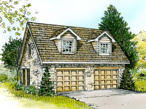 008G-0003 Detached Garage Plan