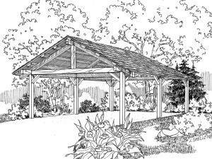 051G-0027 Carport Plan