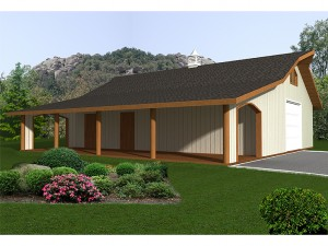 Outbuilding Plan 012B-0007