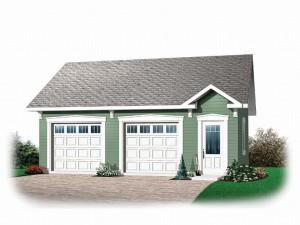 Garage Plan 0028G-0022