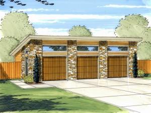 Garage Plan 050G-0035