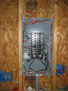 The garage plan shop blog planning electrical wiring for for Best electrical panel for house