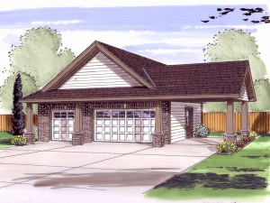 Garage Plan 050G-0032