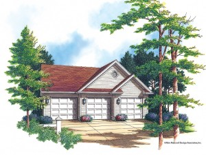 3-Car Garage Plan 034G-0007