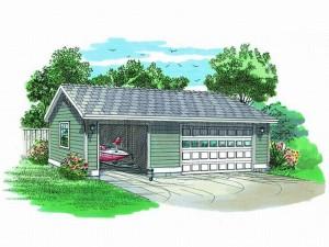 Boat Storage Garage Pla 033G-0014