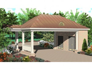 Carport Plan 006G-0048