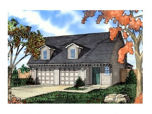 Unique Garage Plan 009G-0004