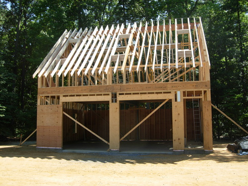 The garage plan shop blog building a garage for A frame house plans with attached garage