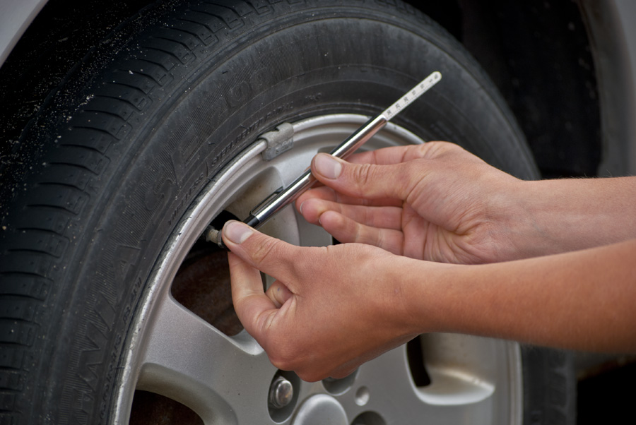 Checking Tire Pressure