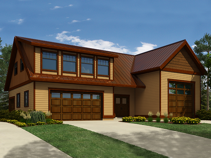 The garage plan shop blog detached garage plans for 4 car garage plans with living quarters