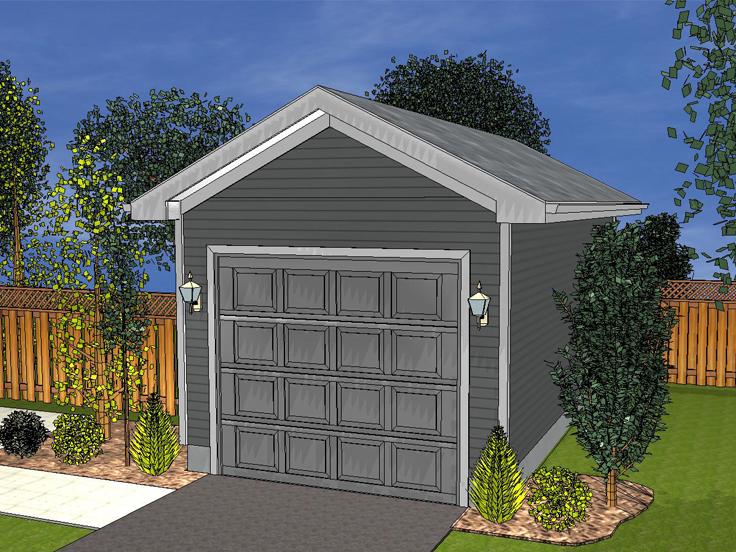 Garage Plan 050G-0015