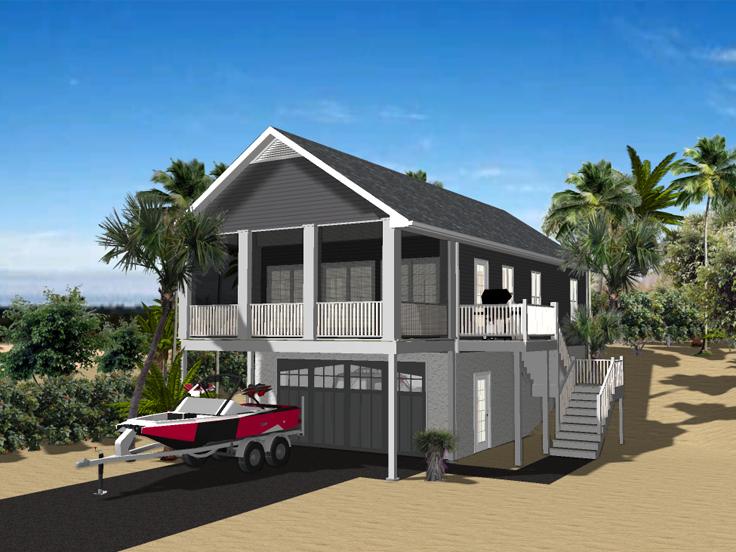 Garage Apartment Plan 049G-0002