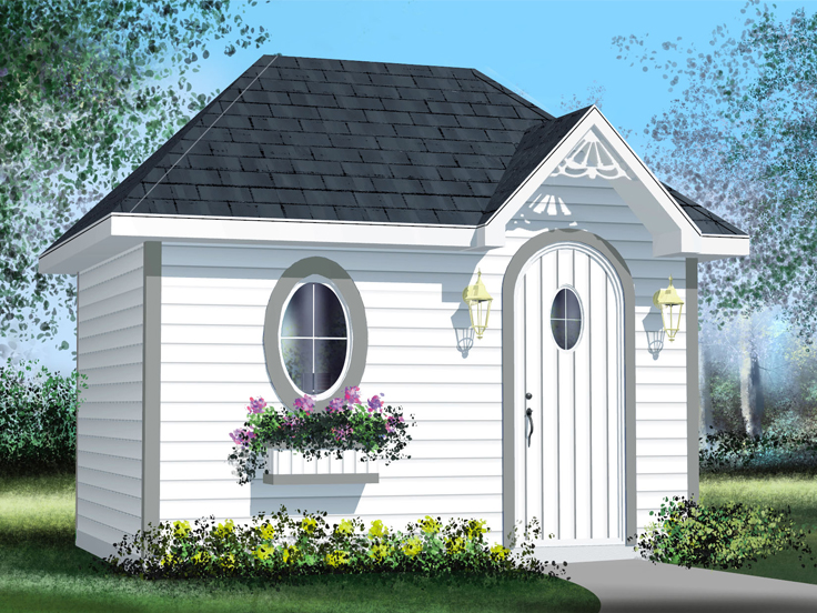 Shed Plan 072S-0019