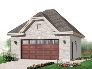 025G-0044 Unique Garage Plan