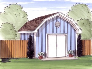 050S-0009 Shed Plan
