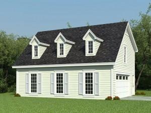 006G-0088 Garage Apartment Plan