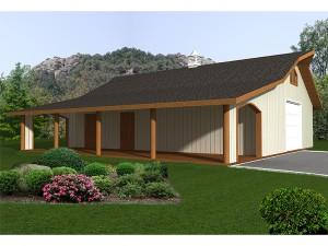 Outbuilding Plan 012B-0007