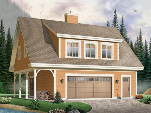 Garage Apartment Plan 027G-0006