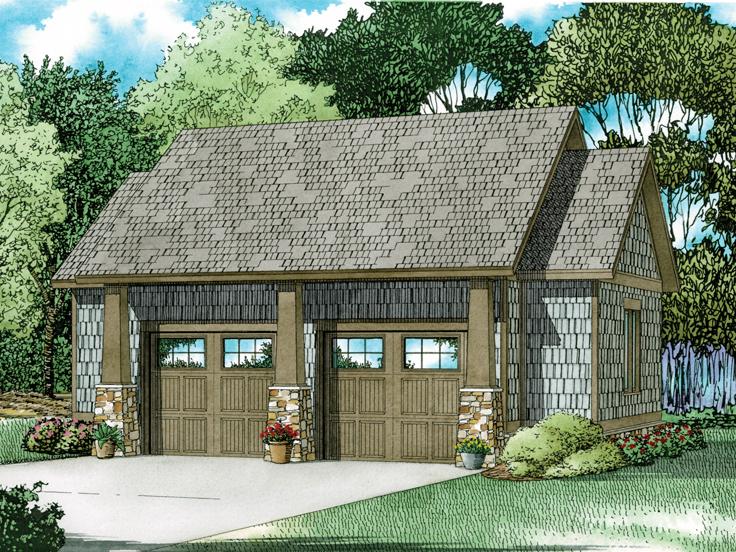 Garage Plan 025G-0005