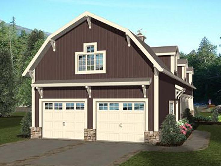RV Garage Plan 007G-0021