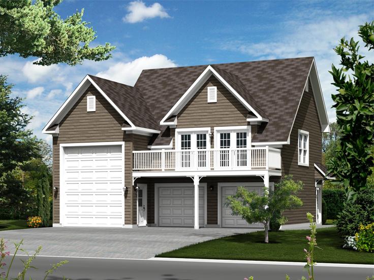 RV Garage Plan 072G-0035