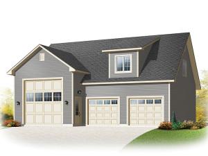 Garage Plan 028G-0052