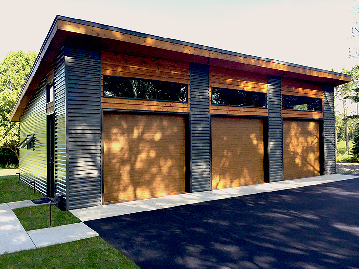 Modern Garage Plan 050G-0035