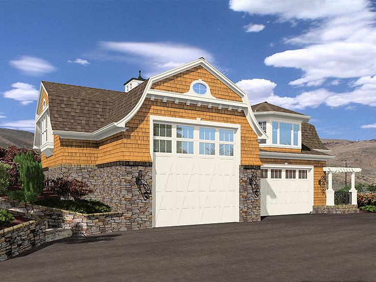 RV Garage Plan 035G-0014