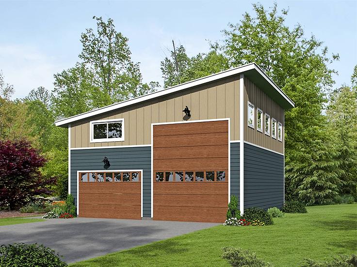 RV Garage Plan 062G-0076