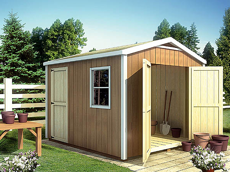 Shed Plan 047S-0006