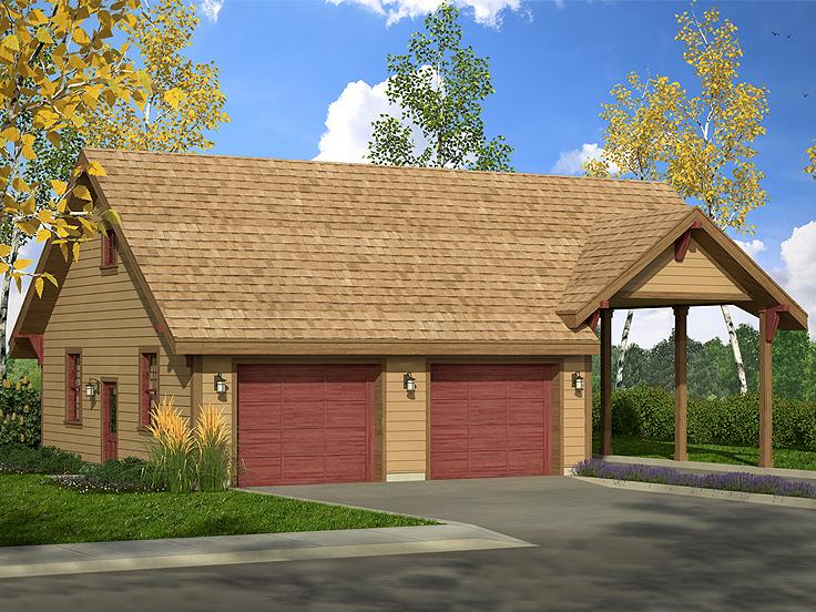 Garage Plan 051G-0098