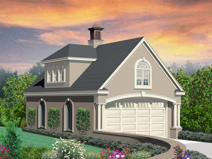 European Garage Plan 006G-0093