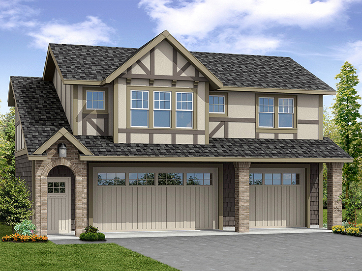 Garage Apartment Plan 051G-0101