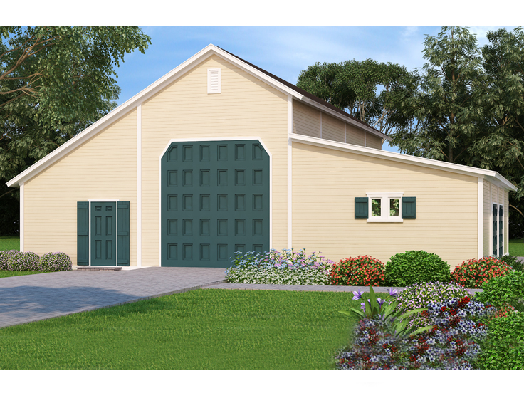 RV Garage Plan 021B-0002