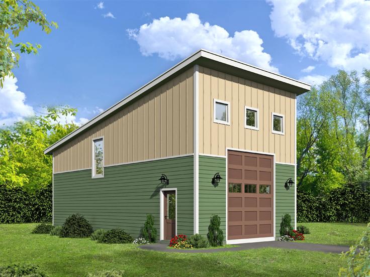 RV Garage Plan 062G-0120