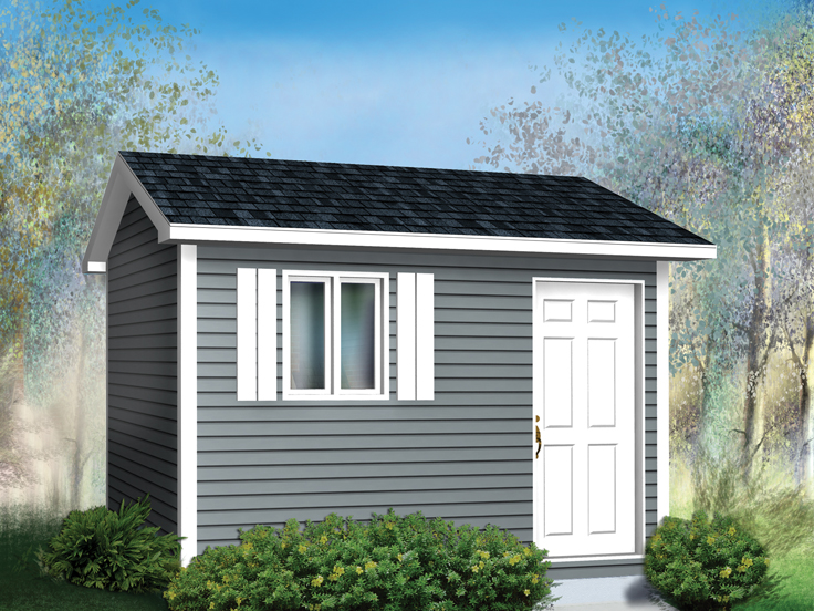 Shed Plan 072S-0005