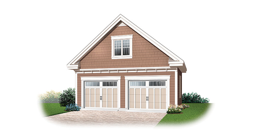 Garage Plans Garage Apartment Plans Outbuildings – 28X32 Garage Plans
