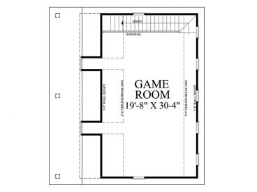2nd Floor Plan, 063G-0003