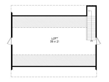 2nd Floor Plan, 062B-0009