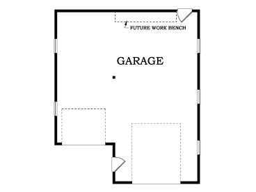 Rv Garage Plans Rv Garage Plan With Attached One Car