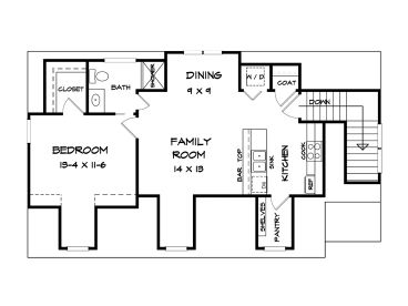 Garage apartment plans 3 car garage apartment plan with for Shop with living quarters plans
