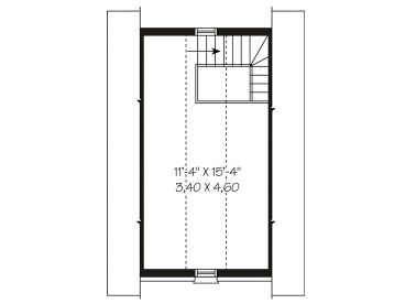 2nd Floor Plan, 028G-0008