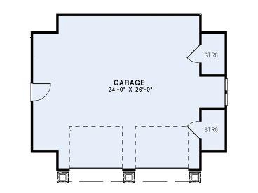 Two Car Garage Plans 2 Car Garage Plan With Craftsman