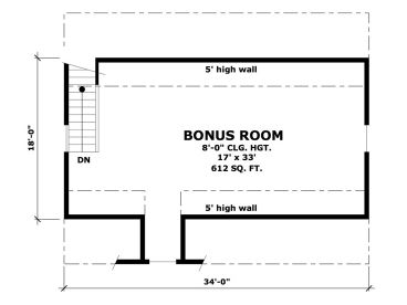 2nd Floor Plan, 023G-0001
