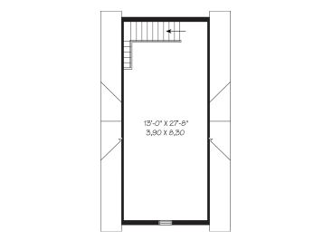 2nd Floor Plan, 028G-0013
