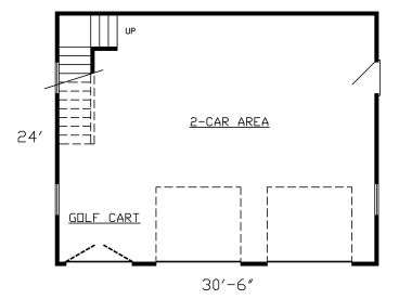 1st Floor Plan, 009G-0016