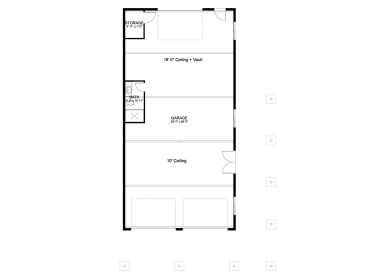 1st Floor Plan, 065G-0023