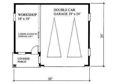 1st Floor Plan, 010G-0002